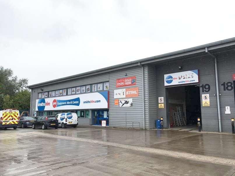 Smiths Hire Warrington Depot