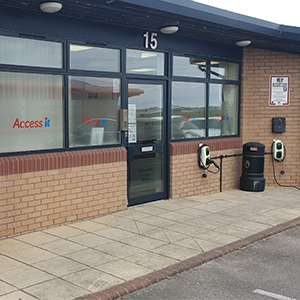 Smiths Hire Blackpool Head Office Depot