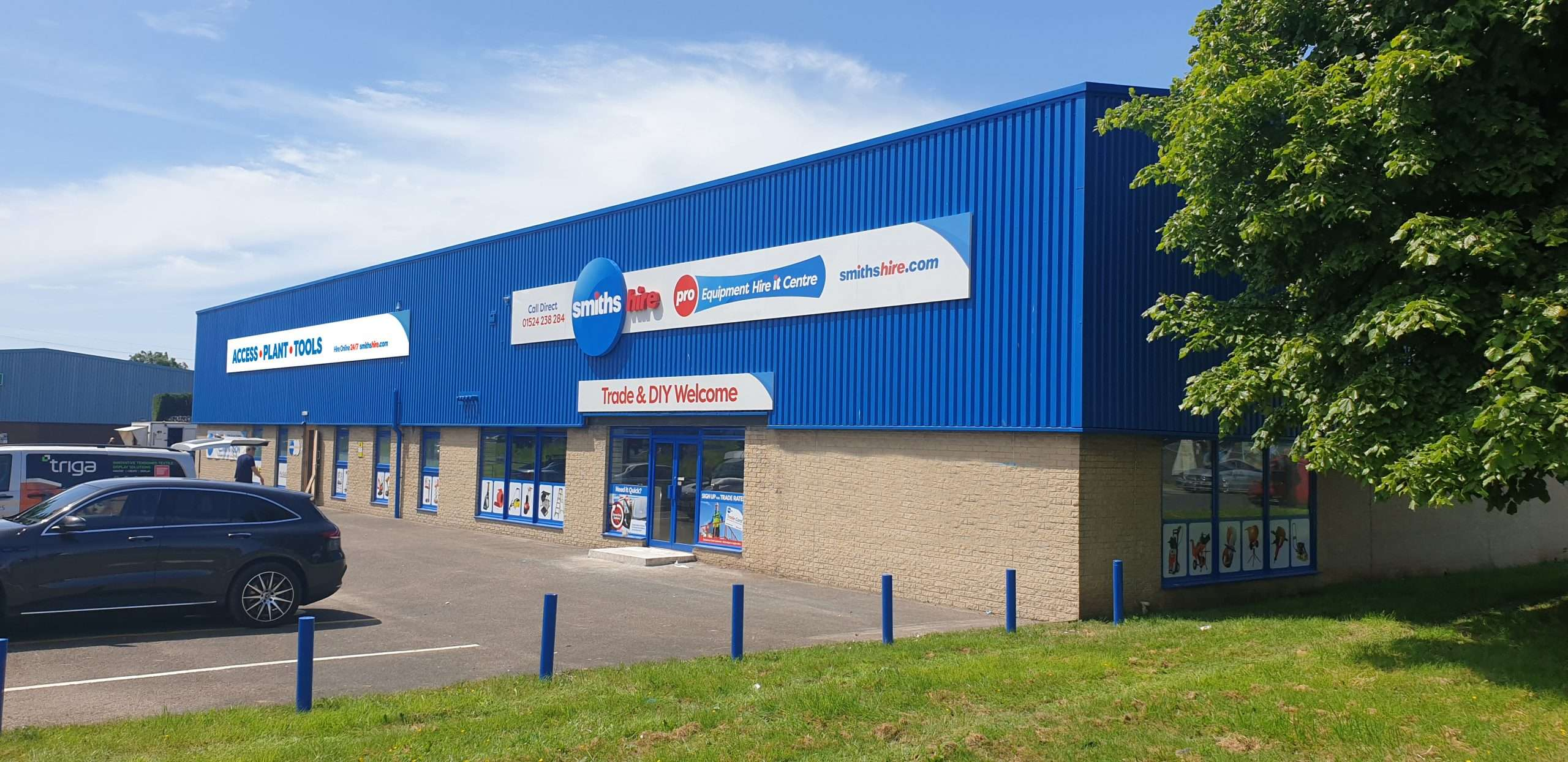 Smiths Hire Lancaster Depot